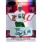 D'Brickashaw Ferguson New York Jets certified autograph card #90/250