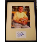 Dick Vitale autograph matted & framed with 8x10 photo