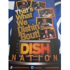 Dish Nation 2013 Comic-Con 11x17 mini promo poster MINT