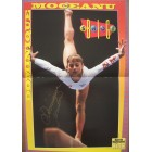 Dominique Moceanu autographed Sports Illustrated for Kids mini gymnastics poster