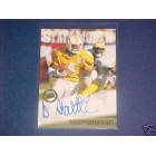 Donte Stallworth certified autograph Tennessee Volunteers 2002 Press Pass card