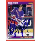 Doug Weight autographed 1991-92 Score Rookie Card