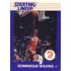Dominique Wilkins Hawks 1988 Kenner Starting Lineup card