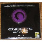 Ender's Game movie 2013 Comic-Con exclusive promo button or pin