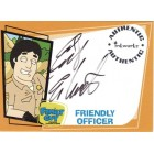 Erik Estrada Family Guy certified autograph card
