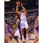 Eric Gordon autographed Los Angeles Clippers 8x10 photo