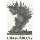 Expendables 2 movie 2012 Comic-Con promotional temporary tattoo