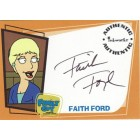 Faith Ford Family Guy certified autograph card