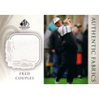 Fred Couples 2004 SP Signature golf Authentic Fabrics tournament worn shirt card