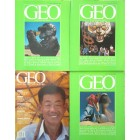 GEO magazine lot of 4 including Collector's Edition charter issue #1