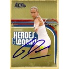 Gisela Dulko autographed 2006 Ace Authentic tennis card
