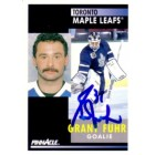 Grant Fuhr autographed Toronto Maple Leafs 1991-92 Pinnacle card