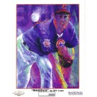 Greg Maddux Chicago Cubs 8x10 art print by Bill Lopa ltd edit 3000