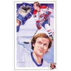 Guy Lafleur Montreal Canadiens 1992 Legends Magazine postcard