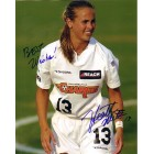 Heather Mitts autographed WUSA Philadelphia Charge 8x10 photo inscribed Best Wishes!