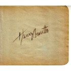 Henry Armetta autographed autograph album or book page