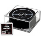 Hockey puck plastic display case holder (BCW)