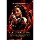 Hunger Games Catching Fire mini movie poster (Jennifer Lawrence)