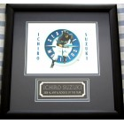 Ichiro Suzuki Seattle Mariners 8x10 photo matted & framed with 2001 AL MVP & Rookie of the Year nameplate