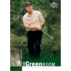 Jack Nicklaus 2002 Upper Deck golf Green Room insert card