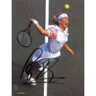 Jana Novotna autographed full page tennis magazine photo