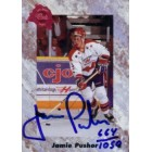 Jamie Pushor certified autograph 1991 Classic card