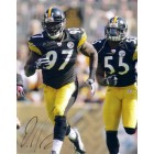 Jason Worilds autographed Pittsburgh Steelers 8x10 photo