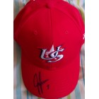 Jeff Francoeur autographed USA 2006 World Baseball Classic cap or hat