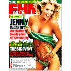 Jenny McCarthy autographed 2005 FHM magazine (topless cover)