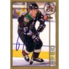 Jeremy Roenick autographed Phoenix Coyotes 1998-99 Topps card