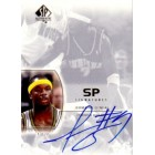 Jermaine O'Neal certified autograph Indiana Pacers 2003-04 SP Authentic card