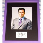 Jimmy Kimmel autograph matted & framed with 8x10 photo