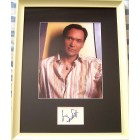 Jimmy Smits autograph matted & framed with 8x10 photo