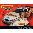J.J. Yeley autographed NASCAR 8x10 photo card