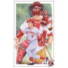 Johnny Bench Cincinnati Reds 1992 Legends Magazine postcard