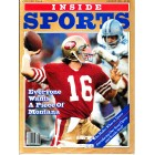 Joe Montana San Francisco 49ers 1982 Inside Sports magazine