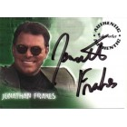 Jonathan Frakes Roswell certified autograph card