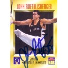 John Roethlisberger (gymnastics) autographed 1996 Sports Illustrated for Kids card