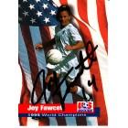 Joy Fawcett autographed 1999 Women's World Cup Champions card