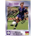 Julie Foudy autographed US Soccer 1997 Sports Illustrated for Kids card