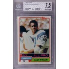 Kellen Winslow San Diego Chargers 1981 Topps Rookie Card RC graded BGS 7.5 NrMt+
