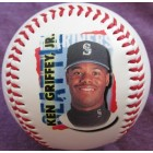 Ken Griffey Jr. Seattle Mariners 1998 CHEX cereal promotional Fotoball baseball