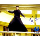 Keanu Reeves autographed Matrix Reloaded 8x10 photo