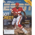 Larry Johnson autographed Kansas City Chiefs 2006 ESPN Magazine