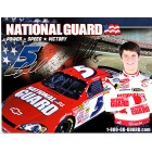 Landon Cassill autographed National Guard NASCAR photo card
