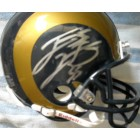 James Laurinaitis autographed St. Louis Rams mini helmet