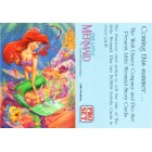 Little Mermaid 1991 Pro Set promo card
