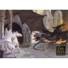 Lord of the Rings Masterpieces 2006 Topps promo card P1
