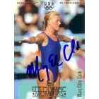 Mary Ellen Clark autographed 1996 Upper Deck U.S. Olympic diving card