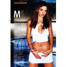Maria Menounos autographed sexy 2003 FHM full page magazine photo